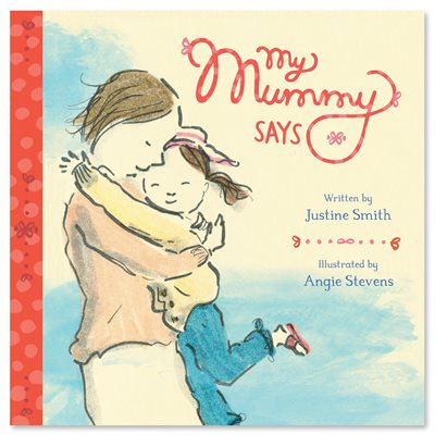 Book cover for My Mummy Says